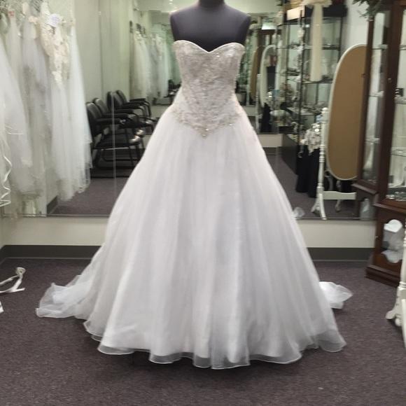 Maggie Sottero Dresses Corbin Beaded Ball Gown Size 16 Poshmark